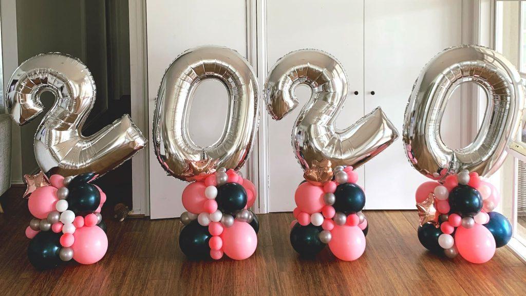 Sculptured Balloon Numbers