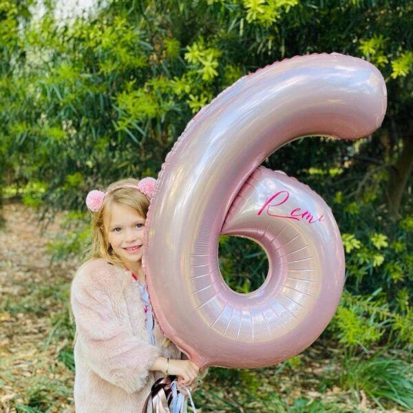 Jumbo Foil Number Balloon
