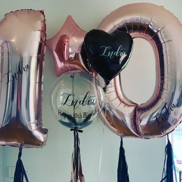 Ultimate Jumbo Number Balloon Bouquet