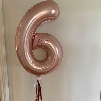 Jumbo Balloon Number 6