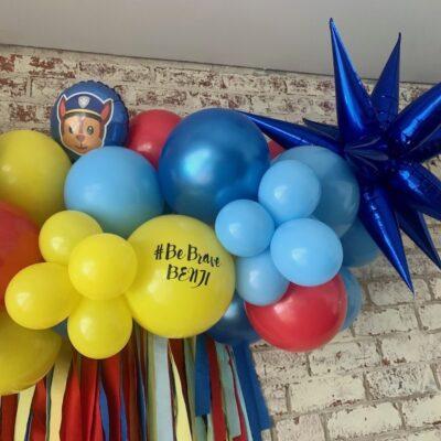 Paw Patrol Balloon garland